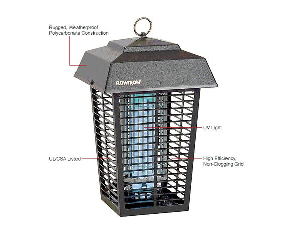Flowtron BK-80D insect killer features