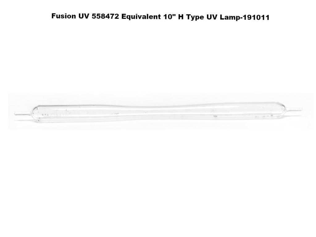 "Fusion UV 558472 Equivalent 10"" H Type UV Lamp"