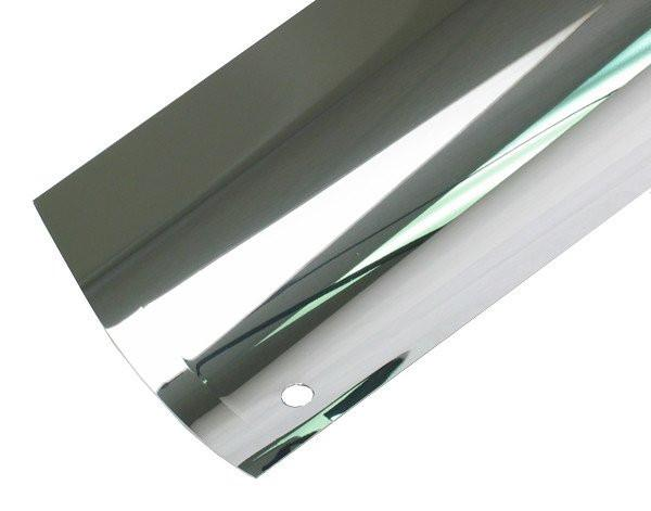 "Aluminum Reflectors - Aluminum Reflector Set For Fusion UV 558394 Equivalent 6"" D Type UV Lamp"