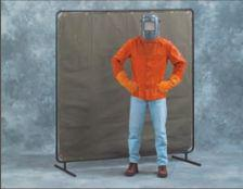 Others - 6' X 6' One-Panel Welding Screen With Legs - UV Exposure Protection