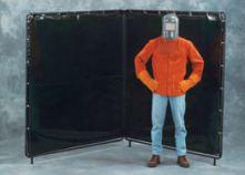 Others - 6' X 6' X 6' Two-Panel Welding Screen - UV Exposure Protection