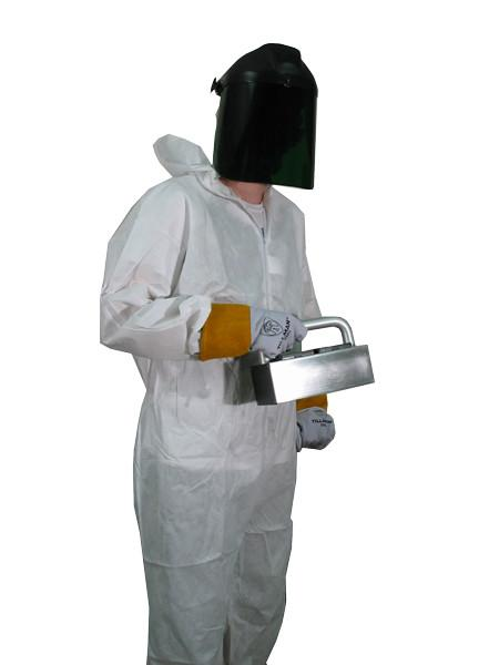 Others - Tyvek Coverall And Elastic Cuff With Hood For UV Protection