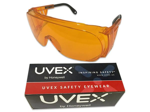 Others - Uvex Ultraspec Orange Safety Glasses - Eyewear For UV Protection