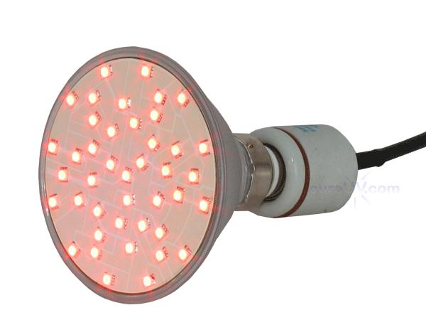 Plant Growth Lights - High Powered Red LED Grow Light - Accelerating Growth And Flowering