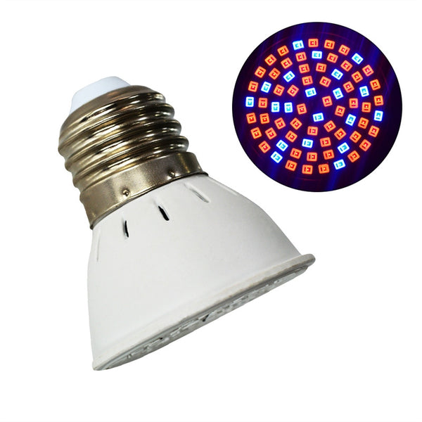 72 LED Grow Light Bulb for Indoor Plants, Hydroponic & Garden Greenhouse