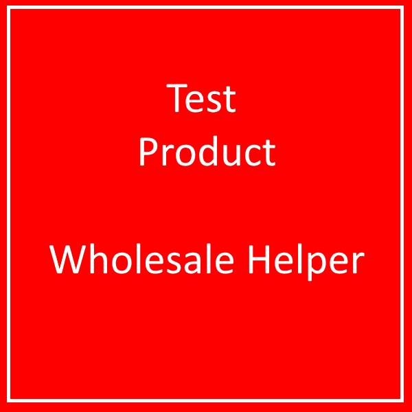 WPD Test Product - ( DO NOT BUY )