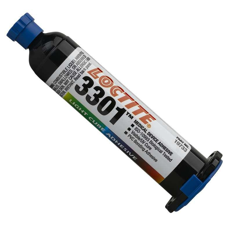 Resin - Loctite 3301 Light Cure Adhesive - Part # 19733 - 25mL Syringe