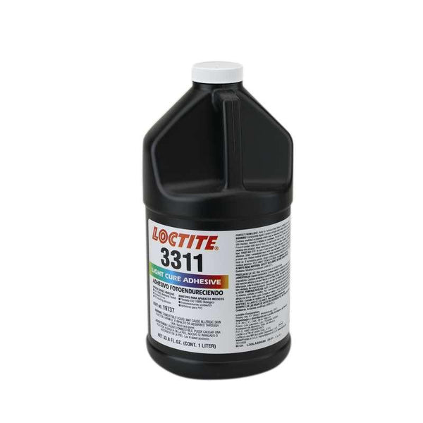 Resin - Loctite 3311 Light Cure Adhesive - Part # 19737 - 1 Liter Bottle