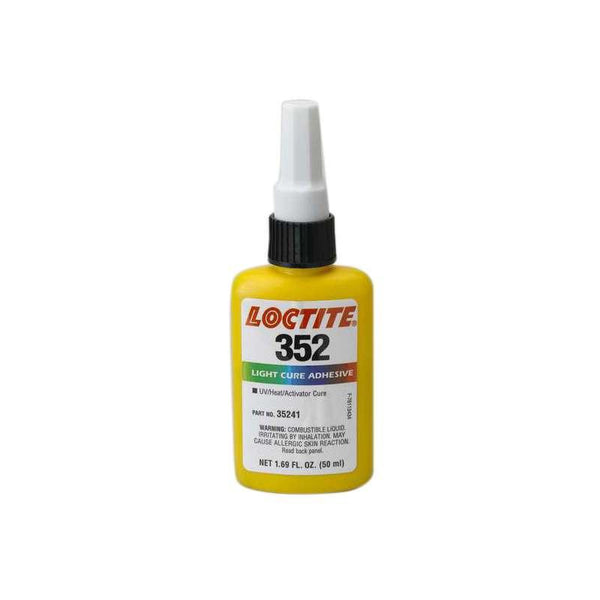 Resin - Loctite 352 Light Cure Adhesive - Part # 35241 - 50mL Bottle