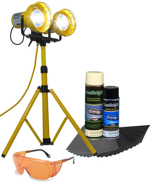 UV Curing - LensBright UV Headlight Restoration - Commercial Intro Starter Kit