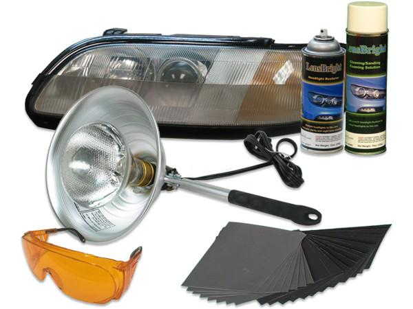 UV Curing - LensBright UV Headlight Restoration - Detailer Intro Starter Kit