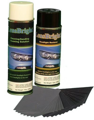 UV Curing - LensBright UV Headlight Restoration Value Pack