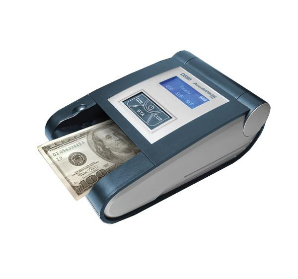 UV Detection - Pro Authenticator Multi Currency UV Detector With MG / IR / Image / Spectrum / Length - Accubanker D580