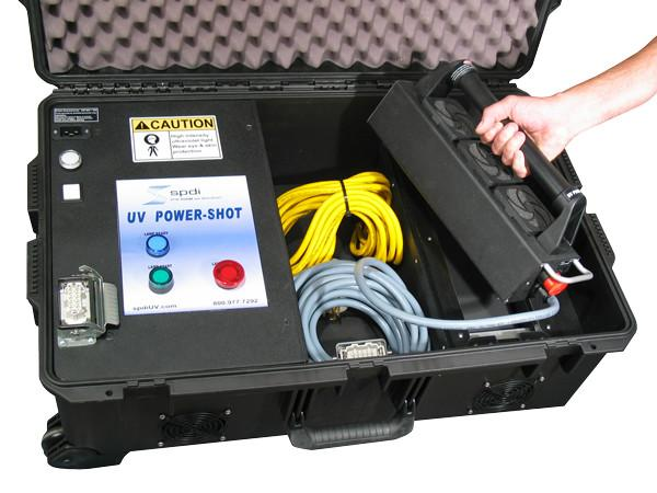 UV Equipment - Portable UV Cure System - Handheld Total-Cure PowerShot