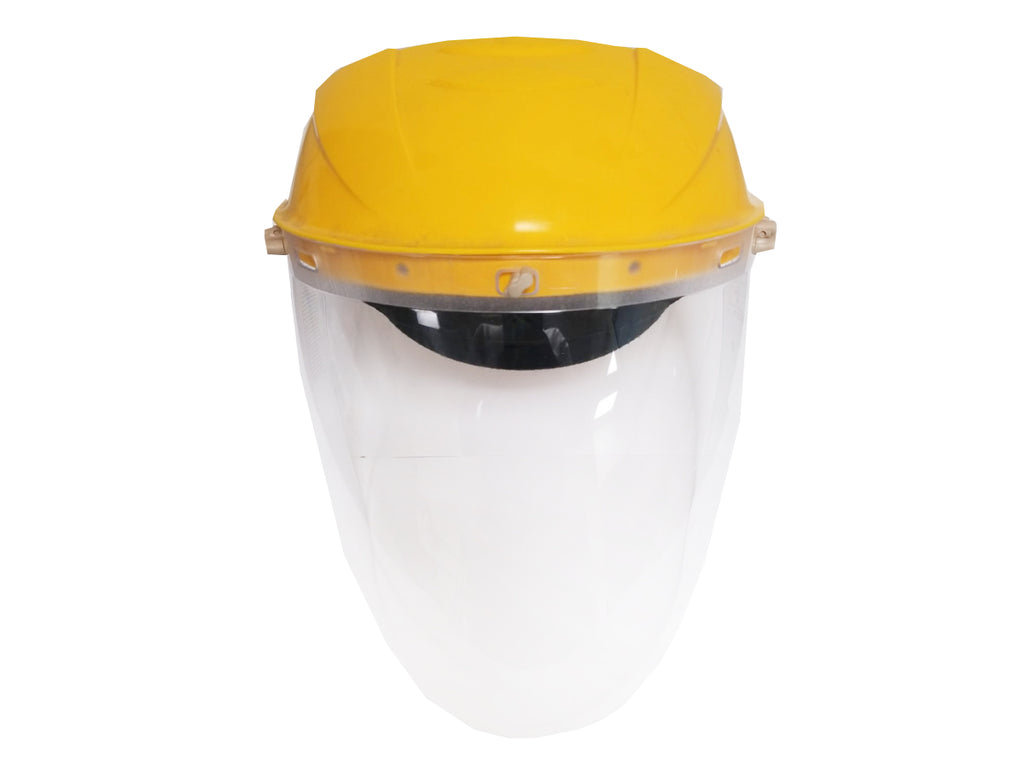 UV Face Shield with Clear Polycarbonate Protection