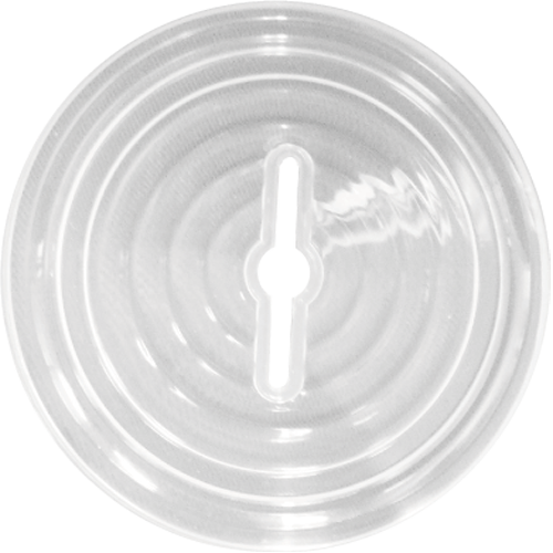 PRSTCLID16/22 Clear Coin Bank Lids