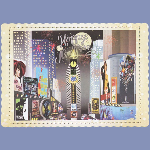 WINTER TIME SQUARE 10x14 Placemat 100 Count JP5177NE