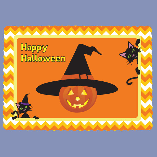 HAPPY HALLOWEEN Tray Cover 12x16 JT9117HA