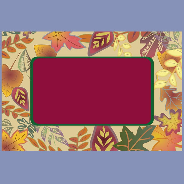 FALL LEAVES 10x14 Placemat 100 Count JP5501FA