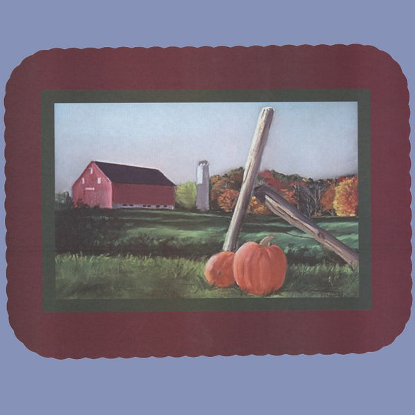FALL COUNTRYSIDE Tray Cover 12x16 CLEARANCE JT9148AU