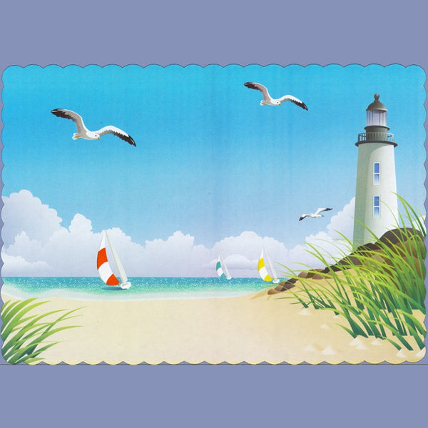 SUMMER BEACH Tray Cover 12X16 JT9221BE