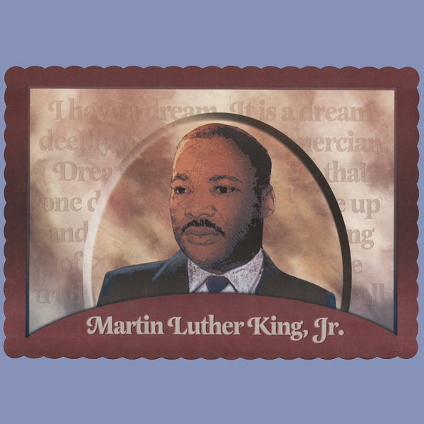WINTER MARTIN LUTHER KING Tray Cover 14X9 CLEARANCE JT9244MA