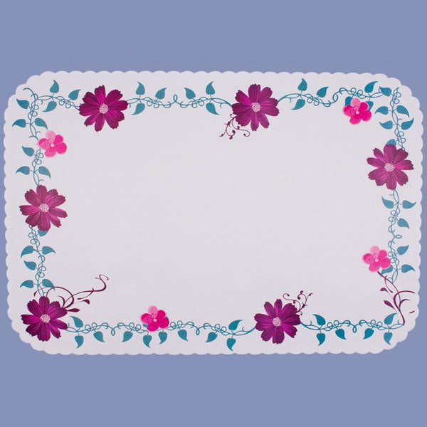 EVERYDAY FLORAL Tray Cover 14X9 JT9304FL