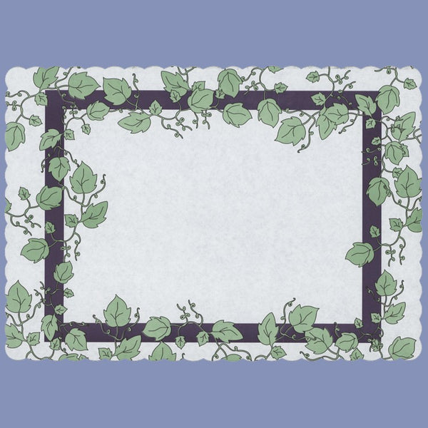 EVERYDAY IVY Tray Cover 12X16 JT9509IV