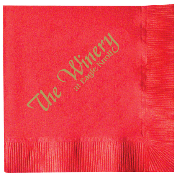 2-Ply Colored Beverage Napkin - Deep Tone Colors PRB2DT