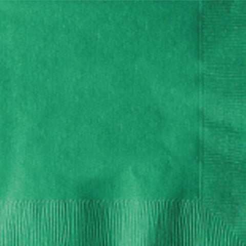 2-Ply Colored Beverage Napkin PRB2DT Jade Green