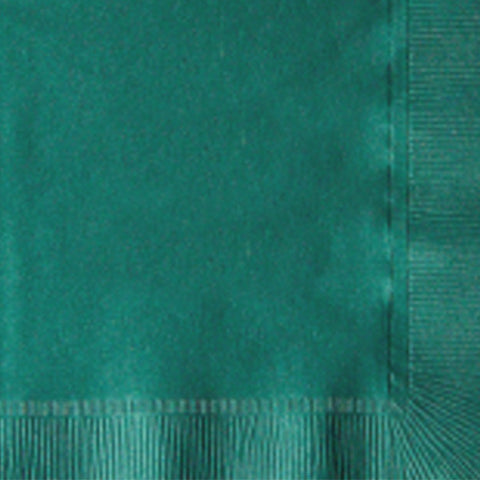 2-Ply Colored Beverage Napkin PRB2DT Hunter Green