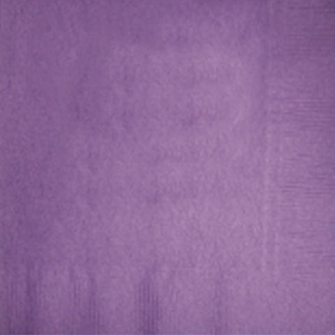 2-Ply Colored Beverage Napkin PRB2DT Purple