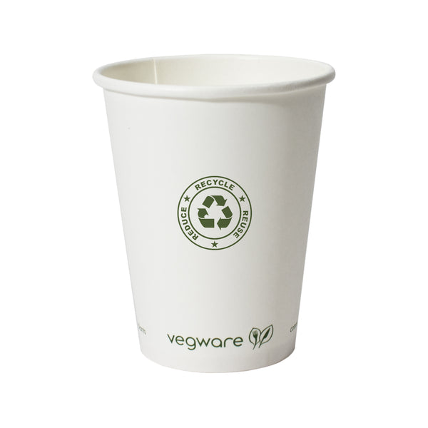 12 oz. Compostable Paper Hot Cup PRCPC12