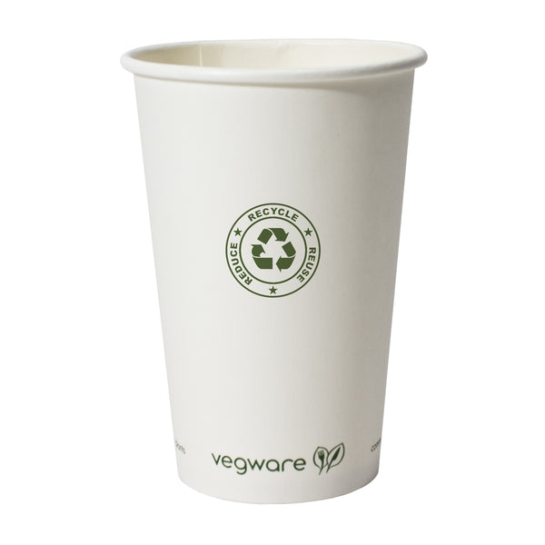 16 oz. Compostable Paper Hot Cup PRCPC16