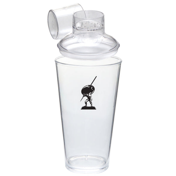Clear Crystal Pint/Cocktail Shaker PRCSP15C