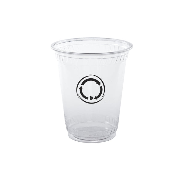 Plastic Cup 7 oz. Clear Soft-Sided Greenware Cup PRCSC7