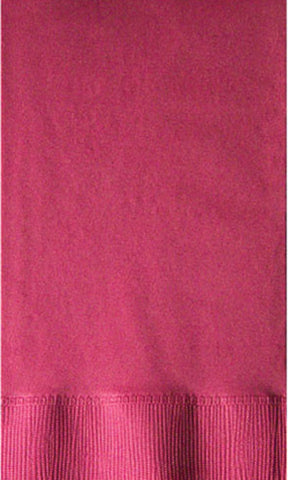 2-Ply Colored Dinner Napkin Deep Tone Colors PRD2DT Burgundy