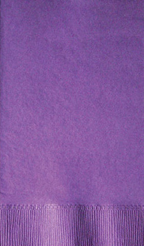 2-Ply Colored Dinner Napkin Deep Tone Colors PRD2DT Purple