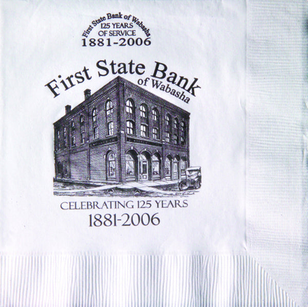 3-Ply White Luncheon Napkin PRL3
