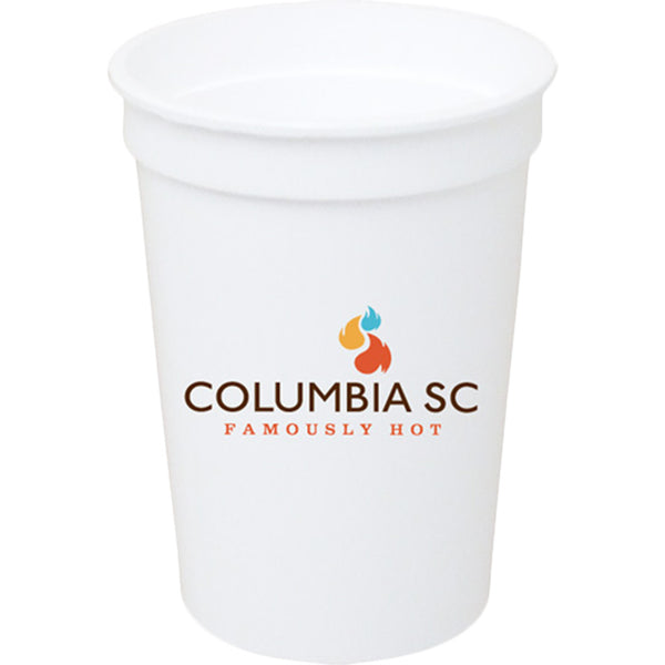 Stadium Cup 12 oz. Smooth White PRST12WH