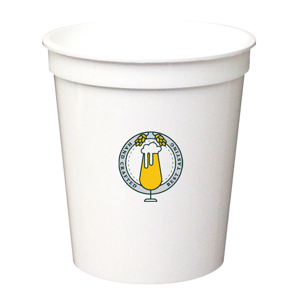 Stadium Cup 16 oz. Smooth White PRST16WH