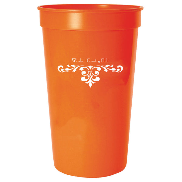 Stadium Cup 22 oz. Smooth Colored PRST22CLR