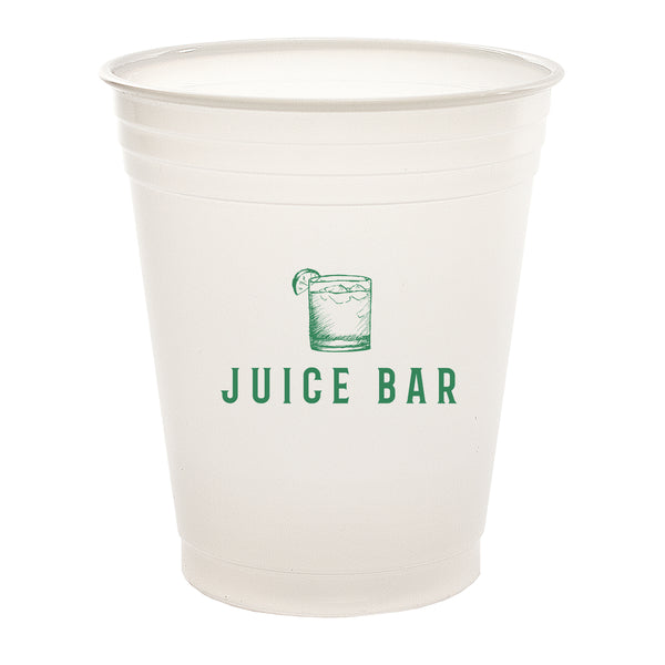 Plastic Cup 14 oz. Soft-Sided Translucent Plastic Cup PRTS14