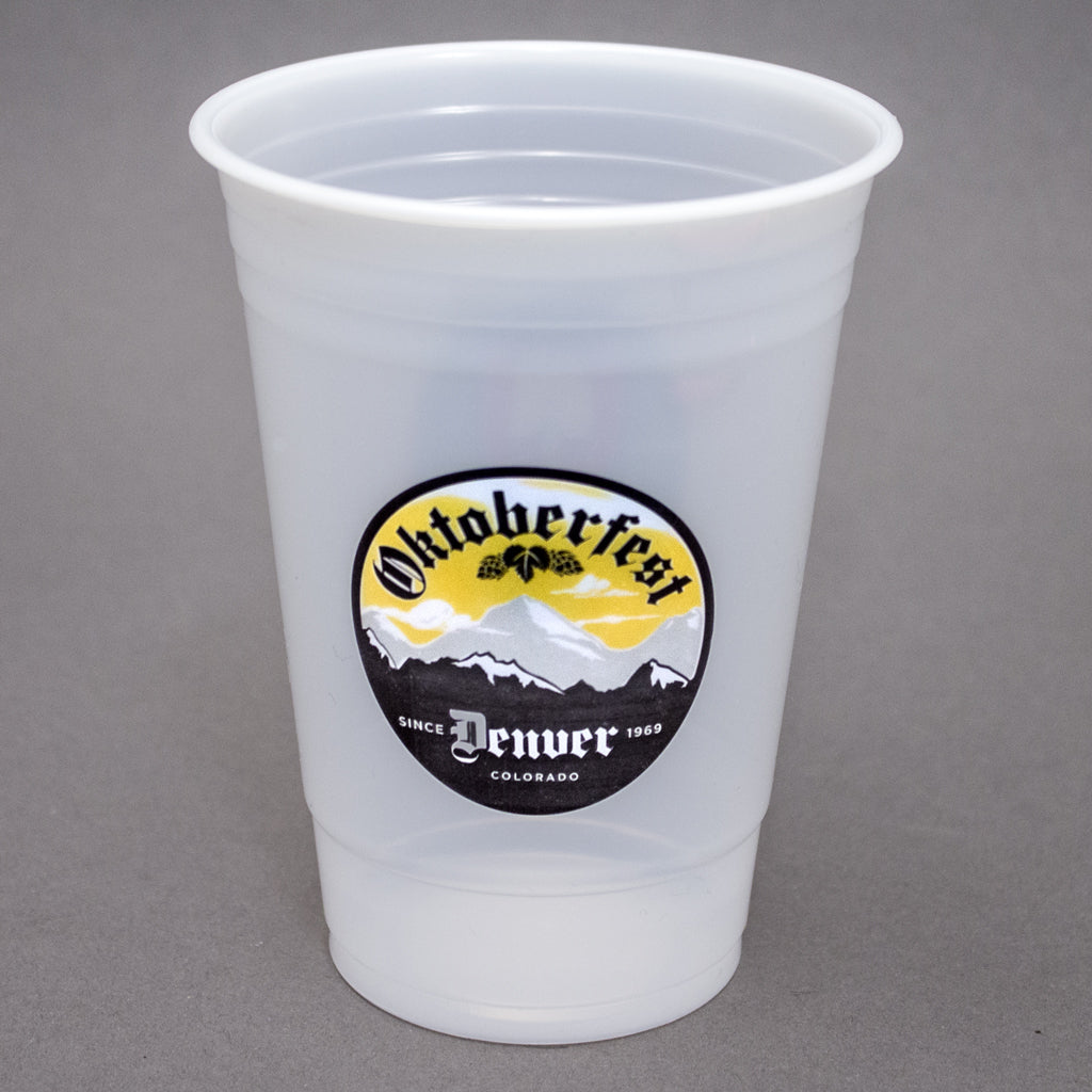 Plastic Cup 16/18 oz  Soft-sided Translucent Plastic Cup PRTS1618