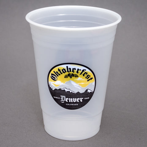 Printed Plastic Cup 16/18 oz. Soft-sided Translucent Plastic Cup PRTS1618
