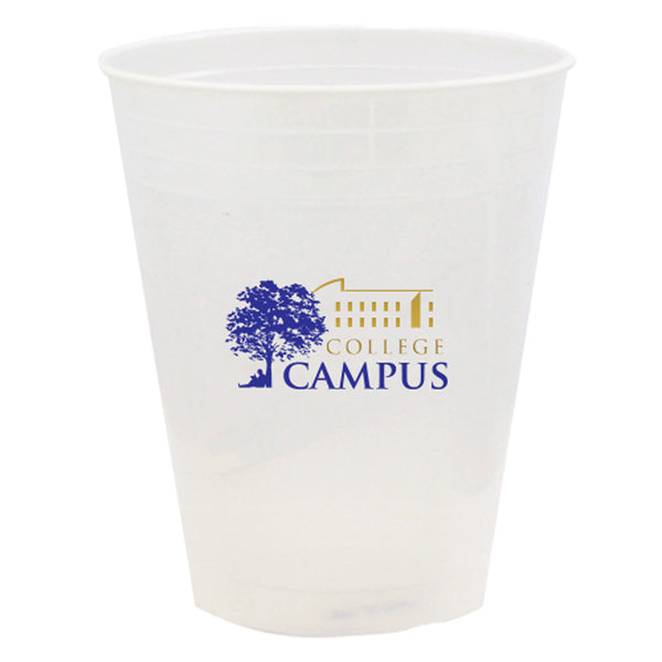 Printed Plastic Cup 20 oz. Soft-Sided Translucent Plastic Cup PRTS20