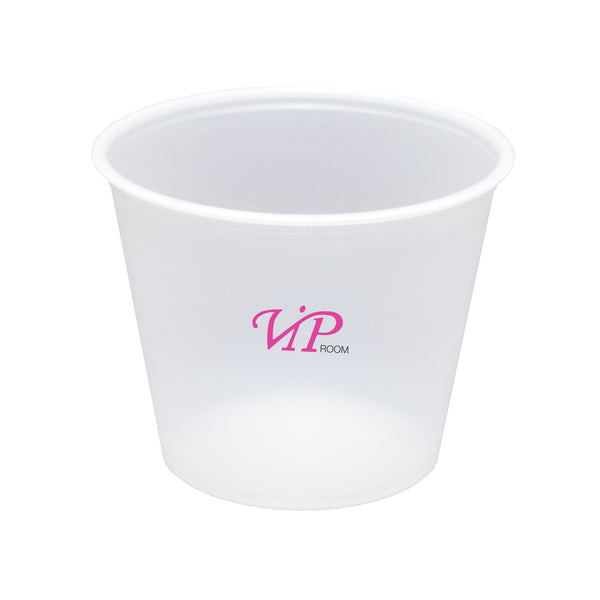 Printed Plastic Cup 5 oz. Soft-Sided Translucent Plastic Cup PRTS5
