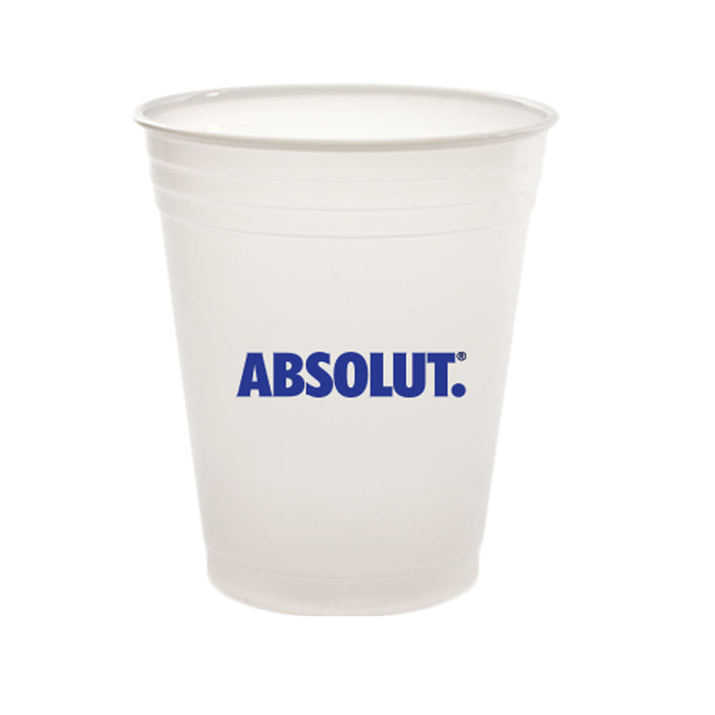 Plastic Cup 7 oz  Translucent Plastic Soft-Sided Cup PRTS7