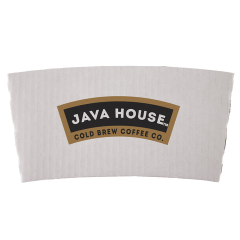 White Coffee Cup Sleeves PRWCS
