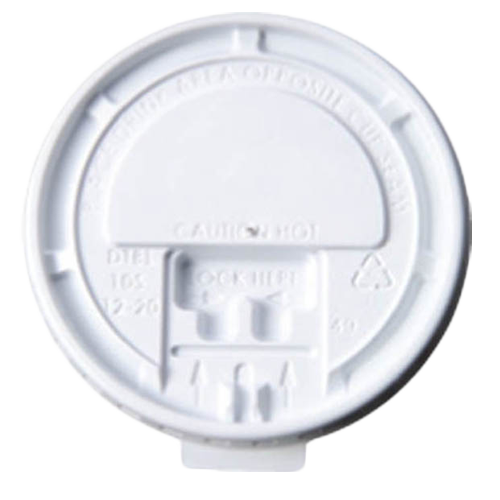 "PRTBLIDPC10-20 White ""Tear-back"" lids"